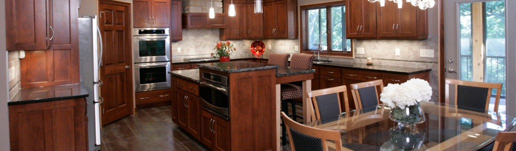 Custom amish cabinetry evergreen designs inc custom for Amish kitchen cabinets wisconsin